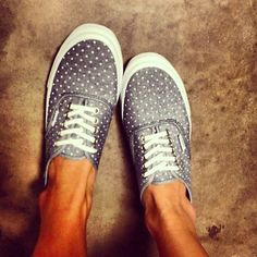 Vans / Polka Dot - for spring and summer adventures