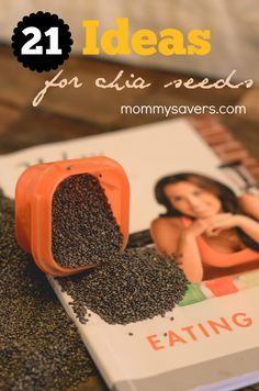 21 Ideas for Chia Seeds Chia seeds are small black seeds that come from a South American plant related to the mint. The ancient history of these seeds goes all the way back to the Mayans, who used ...