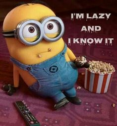 I'm lazy and I know it