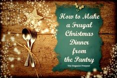 A frugal Christmas dinner…that doesn't sound like much fun, does it? Somehow, a traditional holiday meal has become a license to overspend, but it doesn't have to be that way.