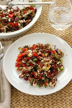 Mediterranean Quinoa Salad - Green Valley Kitchen