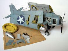 Tamiya F4F Wildcat model