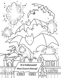"""""""It's Halloween! What Doesn't Belong?"""" is part of a four page set of printables perfect for the holiday.  Your students will have fun finding the holiday misfits!"""