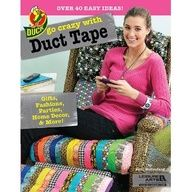 Pre-order Leisure Arts new duct tape pattern book on Amazon now!