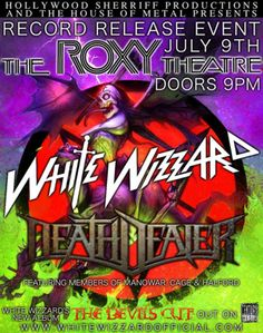 Gig Review: White Wizzard & Death Dealer Bring Old School Metal To The Roxy http://metalassault.com/gig_reviews/2013/07/10/white-wizzard-death-dealer-bring-old-school-metal-to-the-roxy/