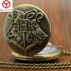 Harry Potter Necklace FREE SHIPPING LIMITED_TIME Pocket Watch Hogwarts... ($26) ❤ liked on Polyvore featuring jewelry, watches, quartz pocket watches, pocket watch, chain watches, quartz jewelry and quartz pocket watch