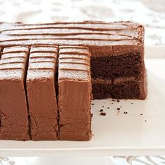 Chocolate Cake 101: We'll show you how to check the doneness of chocolate cake, how to avoid common mistakes when baking a chocolate cake, plus tips on how to make and frost the perfect layer cake.