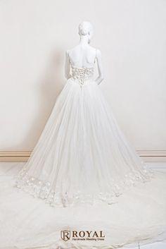 板橋蘿亞手工婚紗 Royal handmade wedding dress 婚紗攝影 量身訂做 訂製禮服 單租禮服