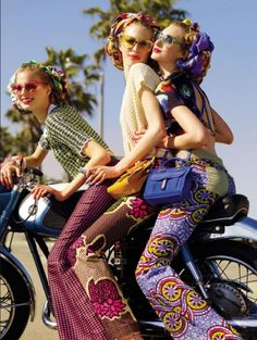 Vogue Suggestions Elisabeth Erm, Chiara Mazzoleni, Dauphine McKee & Simone Nobili by KT Auleta