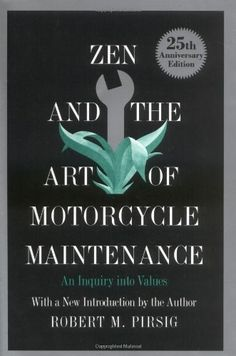 Zen the the Art of Motorcycle Maintenance. An Inquiry into Values. A book that's not about Zen or Motorcycles entirely. Strand Bookstore, Books To Read, My Books, Who Book, Book Jacket, Tumblr, Zen Art, A 17, Illustrations