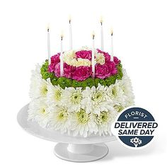 Wonderful Wishes Floral Cake and other flowers & plants at ProFlowers.com