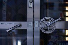 maniglie con parti bici riciclate