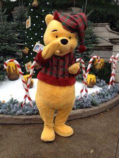 Christmas Winnie the Pooh
