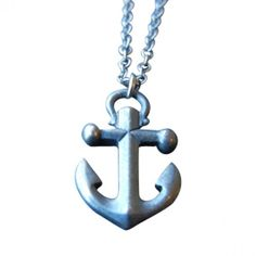 Anchor Charm Necklace - sweet : )