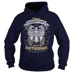 I Love  SMITHERMAN, SMITHERMAN T Shirt, SMITHERMAN Tee Shirts & Tees
