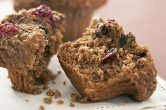 Our Cranberry-Bran Muffins will make a great addition to your breakfast or brunch menu. Serve with a steaming hot cup of coffee or tea. Bran Muffins, Breakfast Muffins, Mini Muffins, Breakfast For Kids, Breakfast Dishes, Breakfast Ideas, Breakfast Recipes, Healthy Cake, Healthy Muffins