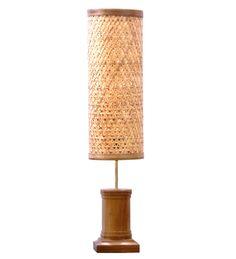 Kraftinn Tattva Beige Bamboo Floor Lamp