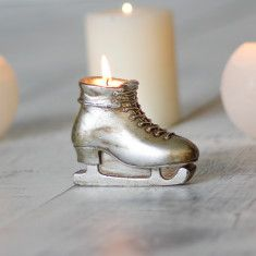 Ski Boot Candle