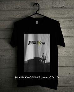 Kaos Fast and Furious 8 Vin Diesel - Bikin Kaos Satuan
