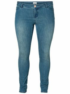Slim fit jeans from JUNAROSE. #junarose #jeans #denim #blue #fashion #plussize