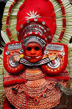The ritual ceremony of Theyyam, Kerala