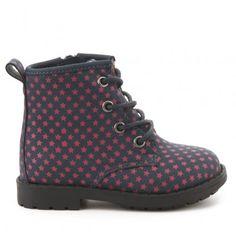 Botín militar LH BY LA HALLE Halle, Dr. Martens, Rubber Rain Boots, Combat Boots, Shoes, Fashion, Shoes For Girls, Boots, Moda