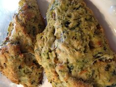 The Black Rooster Bakery Spinach and Feta Savory Scones