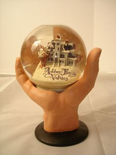 Addams Family Values Movie Snowglobe 1993 Thing Mint Condition Promo Snow Globe