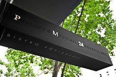 Philippe Mouchel signage
