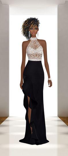Finding Your Fashion Style – Designer Fashion Tips Covet Fashion, Fashion Beauty, Fashion Fashion, Womens Fashion, Party Fashion, Fashion Games, Croquis Fashion, Dress Drawing, Fashion Design Sketches