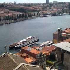 Rio Douro/Ribeira,tirada do tabuleiro superior ponte Luis I