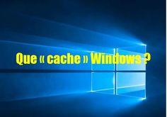 POUR VOTRE SÉCURITÉ : QUE « CACHE » WINDOWS 10?