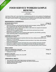 [ Use The Above Sample Food Server Resume Help You Customize And Unforgettable Team Member Examples Stand Out ] - Best Free Home Design Idea & Inspiration Resume Help, Job Resume, Resume Tips, Sample Resume, Resume Ideas, Food Service Jobs, Food Service Worker, Cover Letter Sample, Cover Letter For Resume