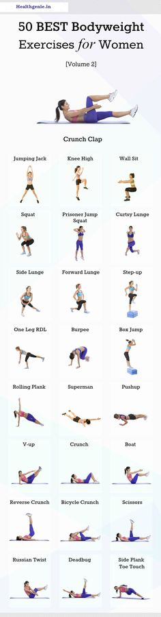 50 Best Bodyweight Exercise for Women [Volume 2] #bodyweight #bodyweightworkout #womenworkout #exercise #workout #womenfitness