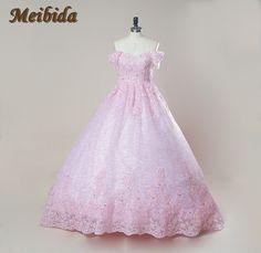 Dress Cloud Pink Ball Gown Wedding Dresses Off the Shoulder Backless  African Wedding Gowns vestido de 8c24054e86f2