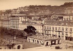 S. della Valle - Vedute di Napoli Historical Images, Naples, Paris Skyline, 19th Century, Past, Louvre, Germany, Exterior, Italy