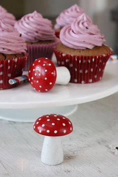 Blueberry cupcakes - Onnellinen kirsikka