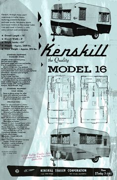 model 16 This is the flyer to my 1958 Kenskill.