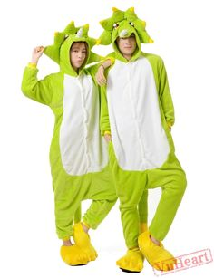2d218871bee Green Monster Kigurumi Onesies Pajamas Costumes for Women  amp  Men Flannel  Pajamas