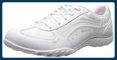 Skechers Damen Breathe-EasyJust Relax Sneaker, Weiß (Wht), 38 EU - Sneakers für frauen (*Partner-Link)