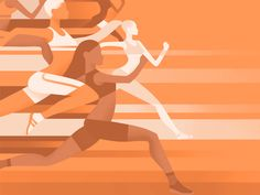 Sport illustration vector graphics ideas for 2019 Vector Graphics, Vector Art, Vector Icons, Marathon Posters, Sports Drawings, Sports Graphics, Flat Illustration, Art Illustrations, Creative Posters