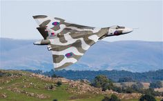 """""""Vulcan to fly over Goodwood – and on to 2015 The last airworthy Avro Vulcan should continue to fly for two more years.""""  I used to sit in tutorials at St. Andrews watching Vulcans taking off from RAF Leuchars across the bay - the noise was unbelievable but even more impressive was the way they would blot out the sun as they flew by."""