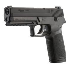 Sig Sauer P250 .177 CAL Co2 Powered 12 GR Air Pistol (16 Rounds), Black