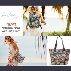 #VeraBradley at #WalkOnWaterBoutques #NomadicFloral has arrived!