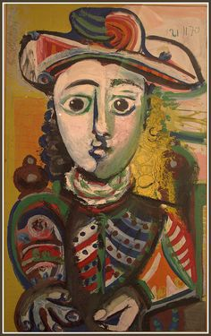 Picasso Pablo - Jeune fille assise | Flickr - Photo Sharing!