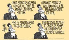 El trazo de Heduardo sobre el uso o no de ropa militar-traje invisible, de Ollanta Humala