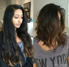 46 Lovely Bob Hairstyles You Will Love Rightaway - Frisuren/Make Up & Co , Short Haircuts Shoulder Length, Long Bob Haircuts, Haircut Bob, Haircut Short, Lobb Haircut, Thick Shoulder Length Hair, Lob Haircut Thick Hair, Long Bob Haircut With Layers, Long Bob Hairstyles For Thick Hair