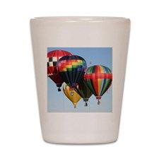 Flying In Formation Shot Glass for
