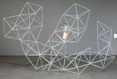geometric light Janie Collins Interiors