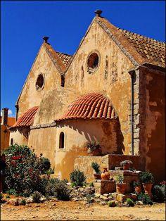 Monastery, Island of Crete, Greece